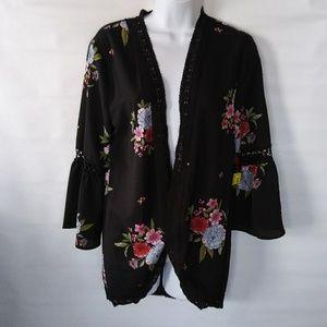 Jackets & Blazers - NWT bell sleeve kimono jacket